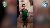 MASA TENİSİ - Kestelli Çocuklardan 'Evinde Kal' Videosu