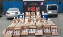 İMALATHANE - Kocaeli'de Bin 340 Şişe Sahte El Dezenfektanı Ele Geçirildi Açıklaması 2 Gözaltı