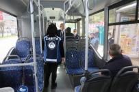 MUSTAFA YAMAN - Mardin'de Toplu Taşıma Araçlarında Korona Virüs Denetimi
