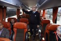 MUSTAFA KOÇ - Ankara Zabıtası AŞTİ'de Otobüsleri Denetledi