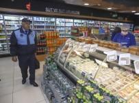 MUSTAFA KOÇ - Ankara Zabıtası Korona Virüs Tedbirleri Çerçevesinde Marketleri Denetledi