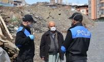 YEREL YÖNETİM - Polis Uyarı Yaptı, Yaşlı Vatandaş Dua Etti