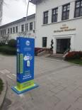 YENI CAMI - Sakaryq'da Muhtelif Noktalara Dezenfektan Otomatları Eklendi