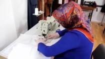 Samsun'daki Halk Eğitim Merkezlerinde Sağlık Kuruluşları İçin Maske Üretiliyor