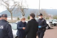 Cide'de Yasağa Uymayan Bir Kişiye Para Cezası Uygulandı