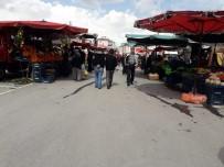 AHMET AYDIN - Develi'de Pazarcılar Da Hijyene Dikkat Ediyor