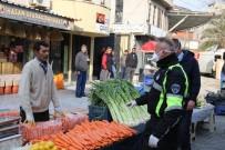 EDREMIT BELEDIYESI - Edremit Körfezi'nin En Büyük Halk Pazarında Gıda Dışında Sergi Açılmasına İzin Verilmedi