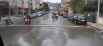 EDREMIT BELEDIYESI - Edremit'te Dezenfekte Çalışmaları Aralıksız Sürüyor