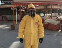 GAZ MASKESİ - Gaz maskesiyle korona önlemi!