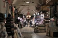 KAPALI ÇARŞI - Kapalı Çarşıda Korona Sessizliği