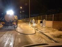 YAVUZ SULTAN SELİM - Körfez'de Cadde Ve Sokaklar Sabunlu Suyla Yıkanıyor