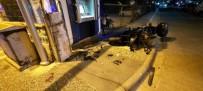 MOTOSİKLET SÜRÜCÜSÜ - Marmaris'te Trafik Kazası Açıklaması 1 Ölü