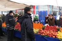 AVCILAR BELEDİYESİ - Pazar Alışverişine Daha Çok Yaşlı Vatandaşlar Çıktı