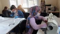 Şanlıurfa'da Kadınlardan Koronavirüse Karşı Maske Üretimine Destek