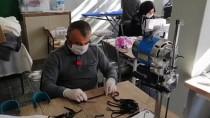 Şarkikaraağaç HEM' Maske Üretimi Başladı