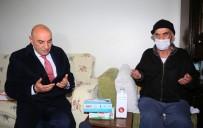 YıLDıRıM BEYAZıT - Sosyal Medyada Gündeme Gelen Ali İhsan Yavaşça'ya Başkan Altınok'tan Destek Ziyareti