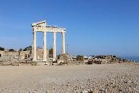APOLLON TAPINAĞI - Tarihi Apollon Tapınağı Sessizliğe Büründü