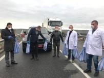 İNİSİYATİF - Türkiye'nin Sofya Büyükelçiliğinden Tır Şoförlerine Yardım