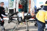 MOTOSİKLET SÜRÜCÜSÜ - Yaralı Alkollü Sürücü Oyun Havasıyla Hastaneye Taşındı