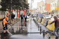 ŞEHITKAMIL BELEDIYESI - Başkan Fadıloğlu Dezenfekte Çalışmalarını Yerinde İnceledi