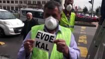 HULUSI ŞAHIN - Batman'da Trafik Levhalarıyla 'Evde Kal' Uyarısı Yapılıyor
