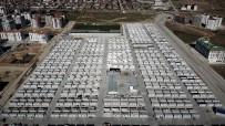 GÜNEŞ ENERJİSİ - Elazığ'da Konteyner Kentlerde 4 Bin 613 Kişi Yaşamaya Başladı