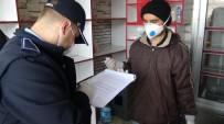 Esnaf Virüs Korkusundan İmzayı Bile Kendi Kalemi İle Attı