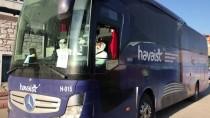 FUAT GÜREL - Havalimanında Mahsur Kalan Yabancı Yolcular Karabük'teki Yurda Yerleştirildi