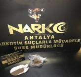 ANTALYA HAVALİMANI - Havalimanında Yolcunun Üzerinden Uyuşturucu Çıktı