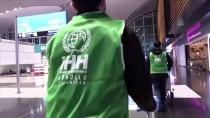 TÜRKMENISTAN - İHH'dan Havalimanında Mahsur Kalan Yabancı Yolculara İnsani Yardım