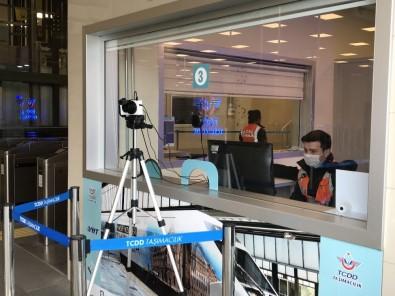Marmaray İstasyonlarında Korona Virüse Karşı Termal Kamera Dönemi