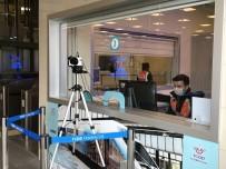 MARMARAY - Marmaray İstasyonlarında Korona Virüse Karşı Termal Kamera Dönemi