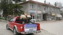 CAN GÜVENLİĞİ - Mustafakemalpaşa'da Kırsal Mahalleler Dezenfekte Ediliyor