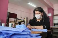 MUSTAFA ÇIFTÇI - Nene Hatun'un Torunları Maske Üretimi İçin Seferber Oldu