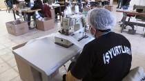 İŞ SAĞLIĞI - Niğde'de Mahkumlar Günlük 20 Bin Maske Üretiyor