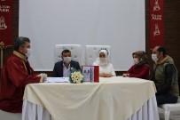 NİKAH SALONU - Nikah Törenlerinde Sıkı Korona Virüs Önlemi