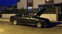 YENIDOĞAN - Adana'da Kundaklanan Otomobilde Hasar Oluştu