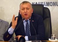 YEREL YÖNETİM - Başkan Aydın, 'Kastamonu, Vaka Sayısının En Yüksek Olduğu İl Olarak Gösterilmek İsteniyor'