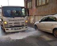 YENIDOĞAN - Bayrampaşa'da Korona Virüs Temizliği