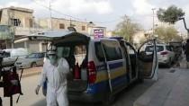 AZEZ - Fırat Kalkanı Bölgesinde Camiler Dezenfekte Ediliyor