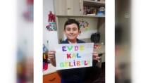 Gelibolulu Öğrencilerden Videolu 'Evde Kal' Mesajı