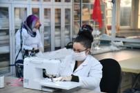 MESLEK EĞİTİMİ - Isparta Belediyesi Maske Ve Tulum Üretiyor