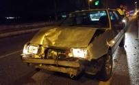 UĞUR MUMCU - Kazaya Neden Olan Sürücü Kaçtı