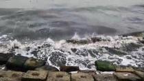 MARMARA DENIZI - Marmara Denizi'nde Poyraz Etkisini Sürdürüyor
