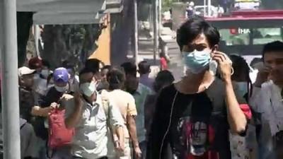 Myanmar'da Korona Virüs Vaka Sayısı 5'E Yükseldi