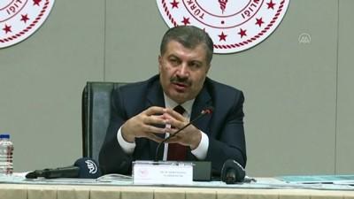 Sağlık Bakanı Koca, Koronavirüs Bilim Kurulu Toplantısı'nın Ardından Açıklamada Bulundu Açıklaması (2)