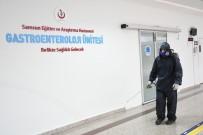 ÇOCUK HASTALIKLARI - Samsun'da Hastaneler Her Gün Dezenfekte Ediliyor