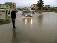 ŞİDDETLİ YAĞIŞ - Sarımsak Diyarı Araban Sele Teslim