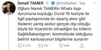 ADALET VE KALKıNMA PARTISI - AK Partili Tamer'den Virüs Kiti İddialarına Yanıt