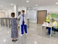 İŞ SAĞLIĞI - Akkuyu Nükleer A.Ş. Korona Virüsle Mücadele Önlemlerini Arttırıyor